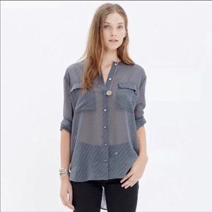 Like New Madewell Dotted Blouse
